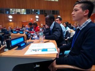 Adolescente Chile ONU